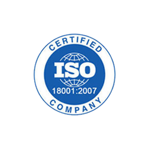 ISO 18001 Certified