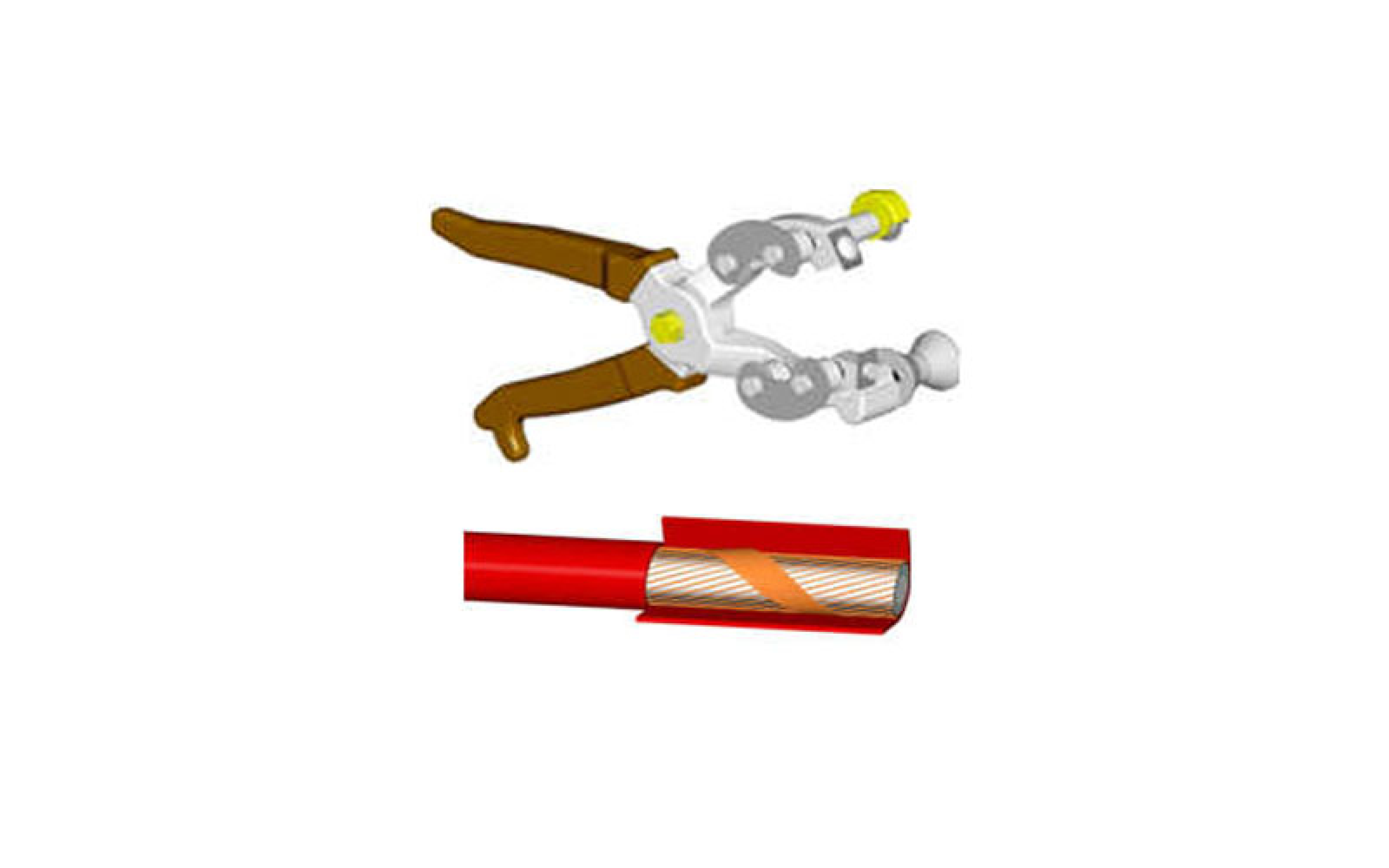 Pliers for HV Cable Outer Sheath
